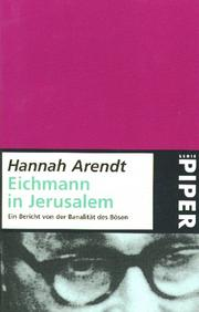 eichmanns essay