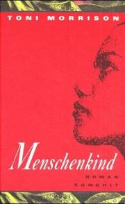 Cover of: Menschenkind | Toni Morrison