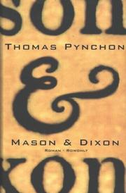 Cover of: Mason und Dixon