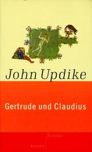 Cover of: Gertrude und Claudius