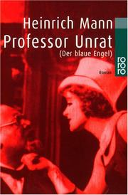 Cover of: Professor Unrat