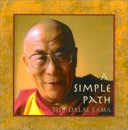 Cover of: A Simple Path: Basic Buddhist Teachings by His Holiness the Dalai Lama