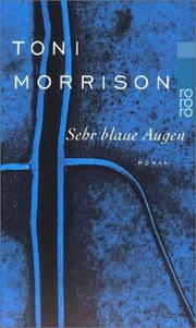 Cover of: Sehr blaue Augen