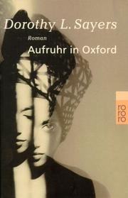 Cover of: Aufruhr in Oxford