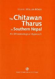 Cover of: The Chitawan Tharus in southern Nepal | U. MuМ€ller-BoМ€ker