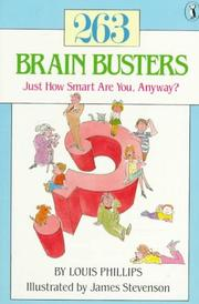 Cover of: 263 brain busters