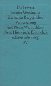Cover of: Frauen-Geschichte: from bourgeois emancipation to sexual liberation