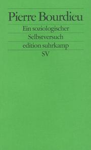 Pierre Bourdieu Bücher Ein Soziologischer Selbstversuch