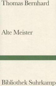 Cover of: Alte Meister. Komödie