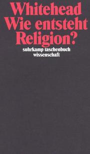 Cover of: Wie entsteht Religion?