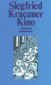 Cover of: Kino. Essays, Studien, Glossen zum Film
