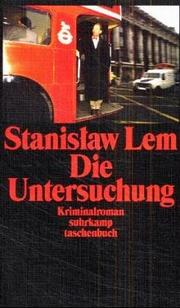 Cover of: Die Untersuchung