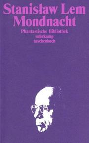 Cover of: Mondnacht