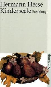 Cover of: Kinderseele. Erzählung