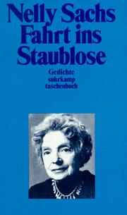 Cover of: Fahrt ins Staublose