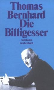 Cover of: Die Billigesser