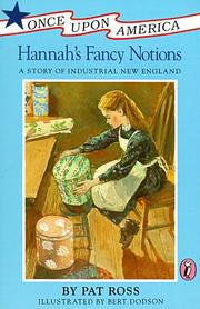 Cover of: Hannah's fancy notions