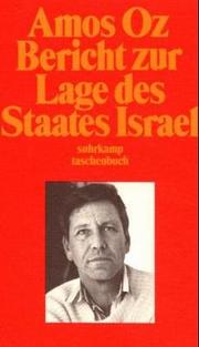 Cover of: Bericht zur Lage des Staates Israel