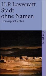 Cover of: Stadt ohne Namen. Horrorgeschichten