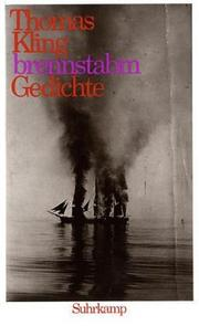 Cover of: Brennstabm