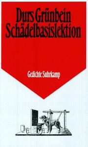 Cover of: Schädelbasislektion