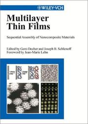 Cover of: Multilayer thin films |