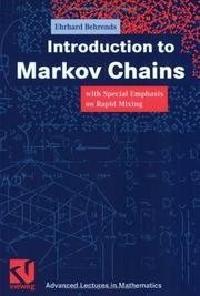 Cover of: Introduction to Markov Chains With Special Emphasis on Rapid Mixing | Ehrhard Behrends