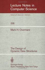 Cover of: The Design of Dynamic Data Structures