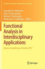 Cover of: Functional Analysis in Interdisciplinary Applications