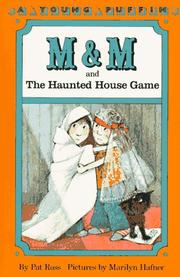 Cover of: M and M and the haunted house game