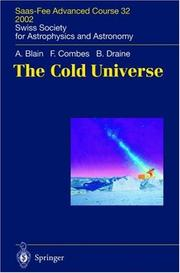 Cover of: The Cold Universe | A.W. Blain