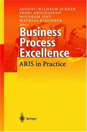 Cover of: Business Process Excellence |
