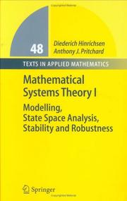 Cover of: Mathematical Systems Theory I | Diederich Hinrichsen