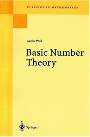 Cover of: Basic number theory