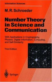 Cover of: Number theory in science and communication