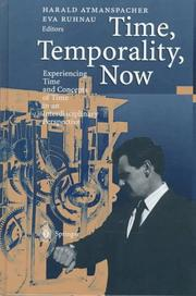Cover of: Time, temporality, now