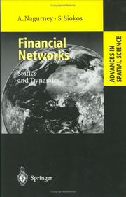 Cover of: Financial networks