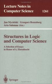Cover of: Structures in Logic and Computer Science |