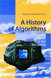 A History of Algorithms