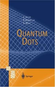Cover of: Quantum dots | Lucjan Jacak