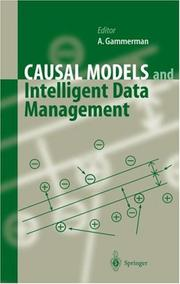 Cover of: Causal Models and Intelligent Data Management