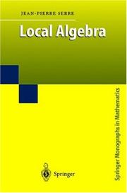 Cover of: Local algebra |