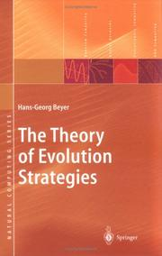 Cover of: Theory of Evolution Strategies | Hans-Georg Beyer