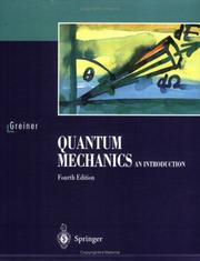 Cover of: Quantenmechanik