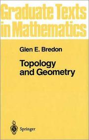Topology and Geometry by Glen E. Bredon