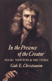Cover of: In the presence of the Creator | Gale E. Christianson