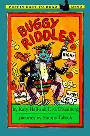 Buggy Riddles by Katy Hall