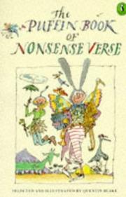 Cover of: The Penguin Book of Nonsense Verse
