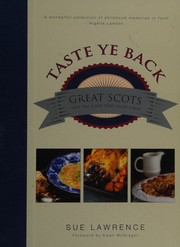 Cover of: Taste ye back | Sue Lawrence