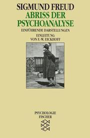 Cover of: Abriss der Psychoanalyse